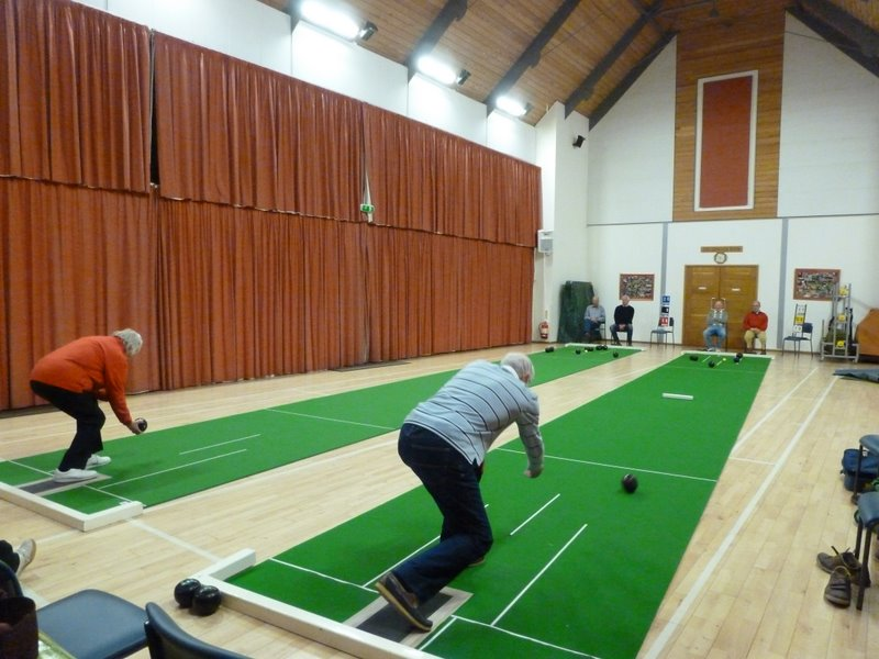 short mat bowls at village hall